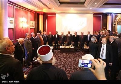 جشن پیروزی انقلاب در دمشق
