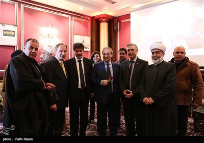 الاحتفال بذکرى انتصار الثورة الاسلامیة الایرانیة فی دمشق