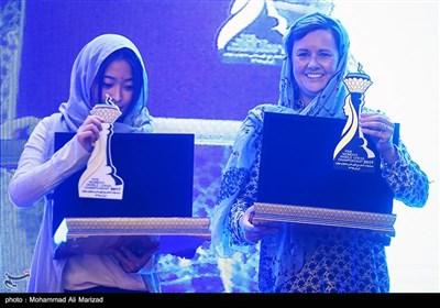 انطلاق بطولة العالم للشطرنج فی إیران فئة النساء