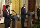 گفتگوی شینزو آبه و ترامپ درباره آزمایش موشکی کره شمالی