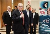 برگزاری مراسم 22 بهمن با حضور مقامات سیاسی روسیه در سفارت ایران