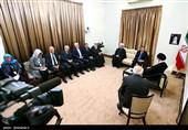 دیدار نخست وزیر سوئد با مقام معظم رهبری