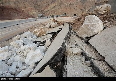 139511232248166729984243 رانش زمین و ریزش کوه در لرستان + تصاویر و جزئیات حادثه