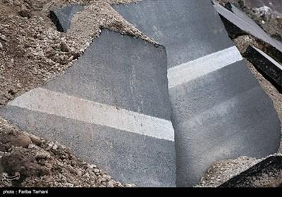 139511232248169379984243 رانش زمین و ریزش کوه در لرستان + تصاویر و جزئیات حادثه
