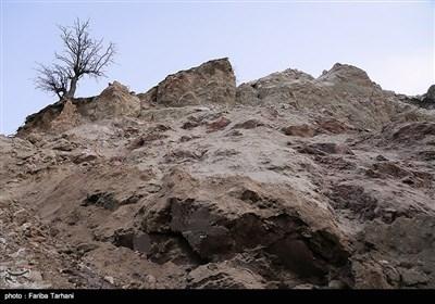 139511232248173599984243 رانش زمین و ریزش کوه در لرستان + تصاویر و جزئیات حادثه