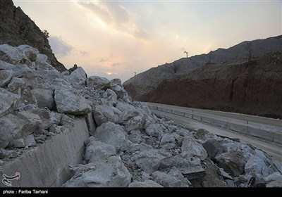 139511232248174229984243 رانش زمین و ریزش کوه در لرستان + تصاویر و جزئیات حادثه