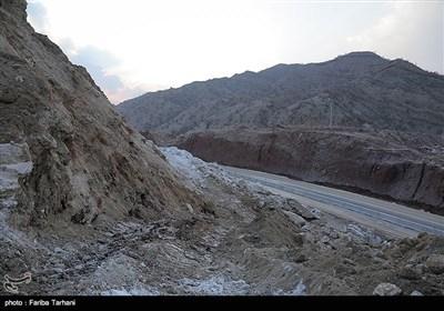 139511232248175159984243 رانش زمین و ریزش کوه در لرستان + تصاویر و جزئیات حادثه
