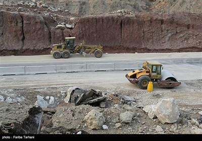 13951123224817629984243 رانش زمین و ریزش کوه در لرستان + تصاویر و جزئیات حادثه