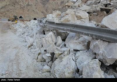 139511232248186729984243 رانش زمین و ریزش کوه در لرستان + تصاویر و جزئیات حادثه