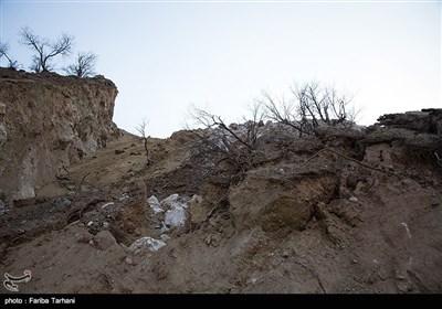 139511232248189069984243 رانش زمین و ریزش کوه در لرستان + تصاویر و جزئیات حادثه