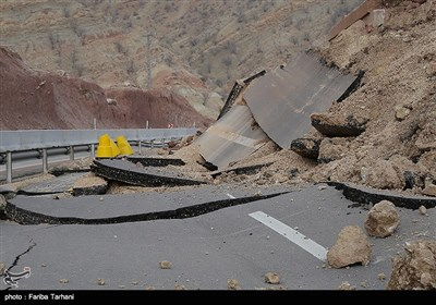 139511232248192039984243 رانش زمین و ریزش کوه در لرستان + تصاویر و جزئیات حادثه