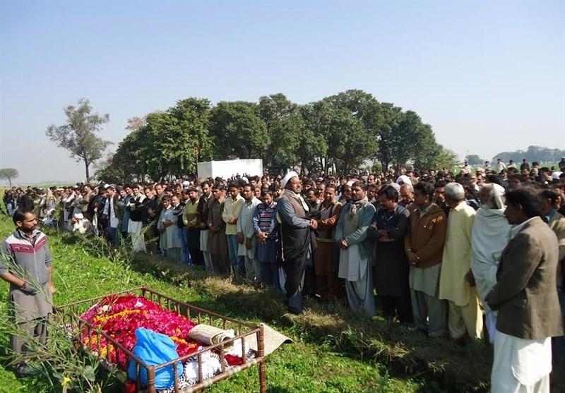 پاکستان میں شیعوں کا قتل عام جاری/ ایک اور نوجوان کو سپردخاک کردیا گیا + تصاویر