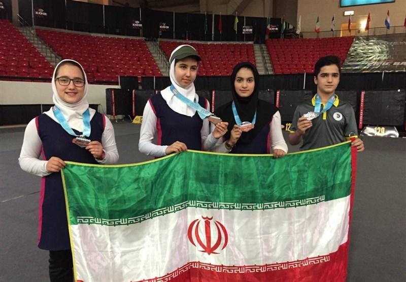 کسب 4 مدال رنگارنگ در رقابتهای جامجهانی لاسوگاس برای تیم تیراندازی با کمان ایران
