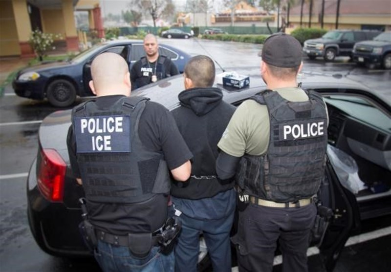 Hundreds of Immigrants Arrested in 'Routine' US Enforcement Surge