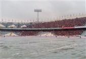 فیلم/ حال و هوای ورزشگاه آزادی پیش از دربی