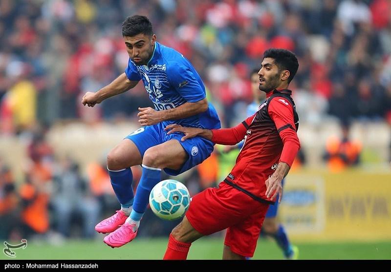 """إنتهاء مباراة دربی """"برسبولیس"""" و""""إستقلال"""" بنتیجة 3-2 لصالح الأزرق"""