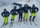برگزاری نخستین تمرین ملیپوشان اسکی آلپاین در پیست سنموریس