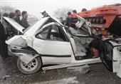 تصادف در سهراهی «چالانچولان» 2 کشته و یک زخمی برجای گذاشت