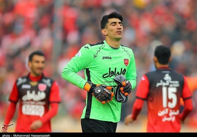 بیرانوند: حاضرم 10 دربی را ببازم، اما قهرمان لیگ شویم/ پنالتی سپاهان گرفته نمیشد شاید بازی را نمیبردیم