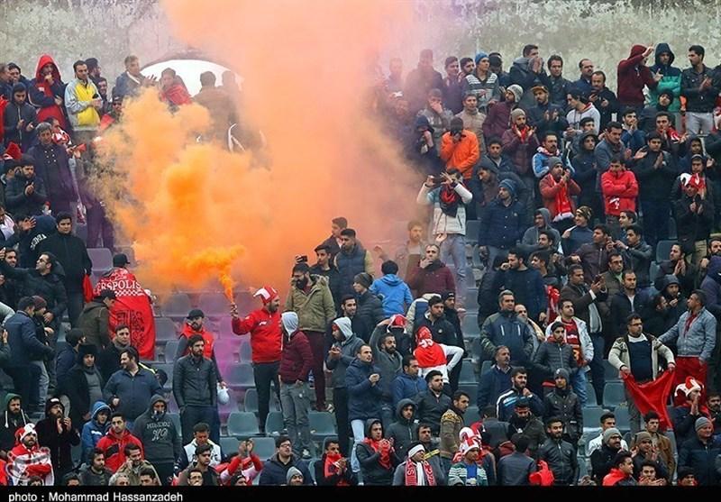حاشیه دیدار پرسپولیس - نفت مسجدسلیمان|درگیری میان هواداران بالا گرفت/ واکنش ویسی به فحاشیها!