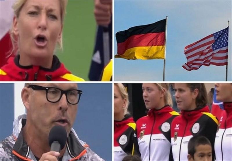 أمریکا تثیر غضب ألمانیا بعزف السلام الوطنی النازی