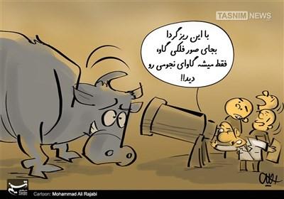 کاریکاتور/ ازصور فلکی تا گاوهای نجومی!