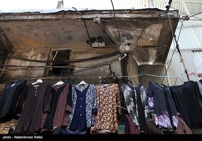 بازار تاریخی همدان در آستانه فاجعه