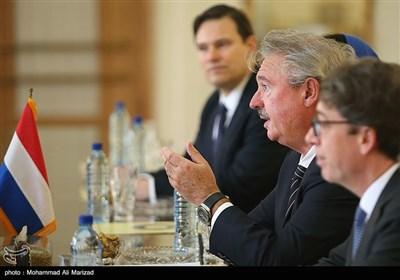 وزیر الخارجیة الإیرانی یلتقی نظیره اللوکسمبورغی