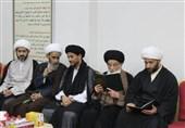 مراسم ختم سه شهید با حضور علمای بحرینی