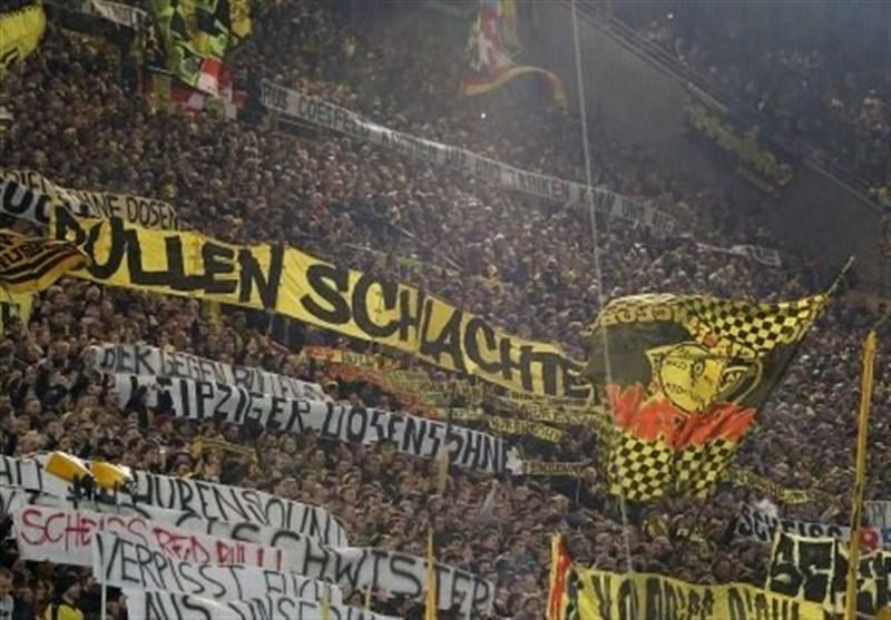 محرومیت 88 هوادار دورتموندی از حضور در ورزشگاههای آلمان