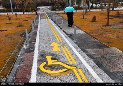 بهره برداری بوستان بسیج ویژه جانبازان و معلولان