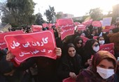 تجمع اهوازیها در اعتراض به شرایط سخت این روزهای خوزستان + تصاویر
