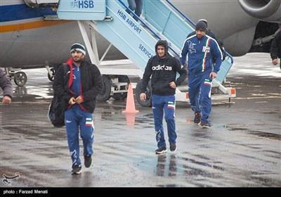 US Wrestlers in Iran's Kermanshah for World Cup Games