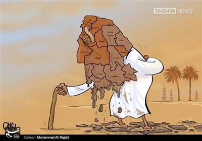کاریکاتور/ رطوبت و غبار تدبیر بر رخ خوزستان!