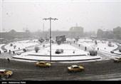 196 میلیمتر برف و باران در همدان بارید