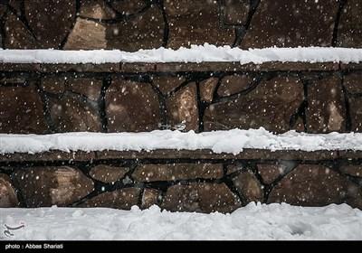 """تساقط الثلوج فی مدینة """"کرج"""""""