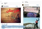 بحران اخیر خوزستان از دید کاربران فضای مجازی +تصاویر