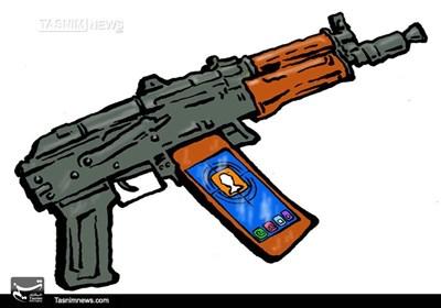 کاریکاتور/ شبکههای اجتماعی، سلاح جنگهای ترکیبی