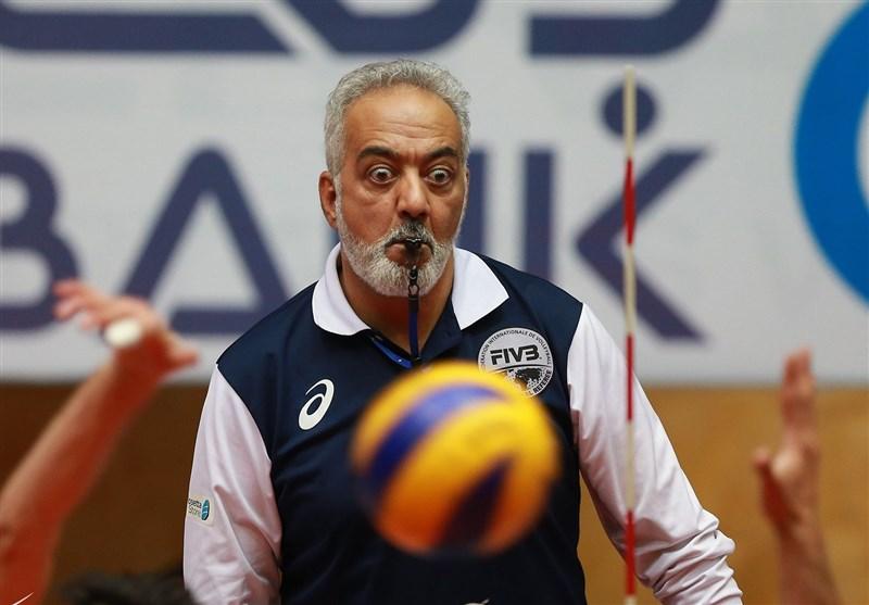 Iranian Volleyball Referee Shahmiri Wants to Help Next Generation