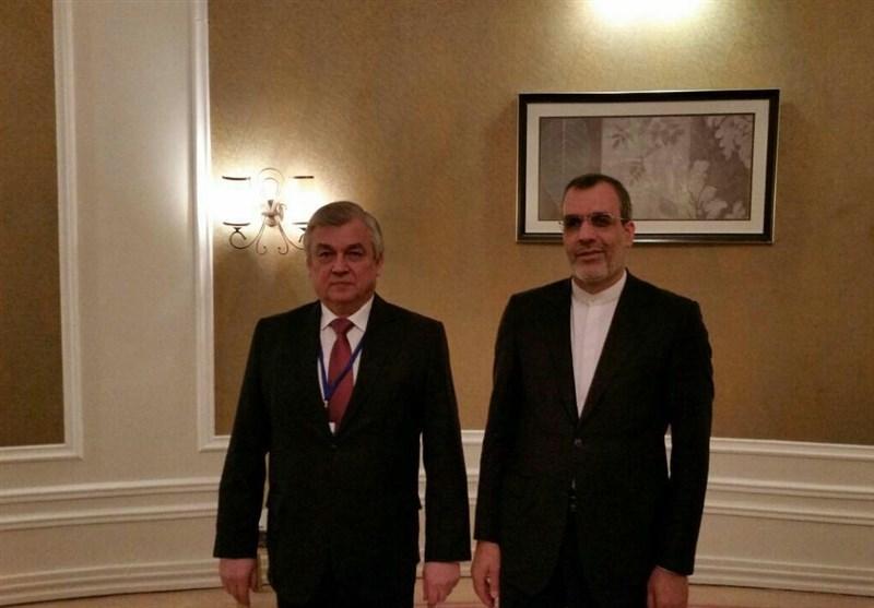 Iranian, Russian Diplomats Discuss Syria in Astana