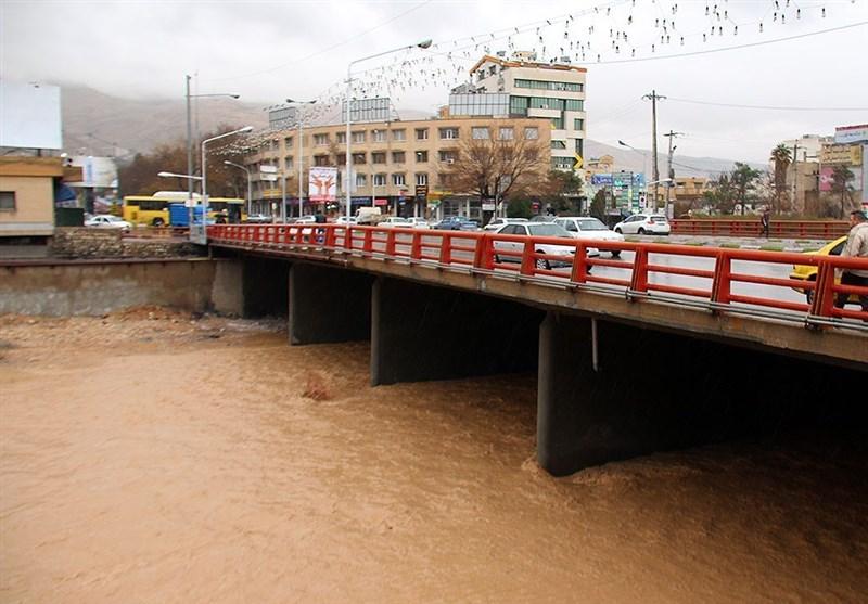 رودخانه خشک شیراز