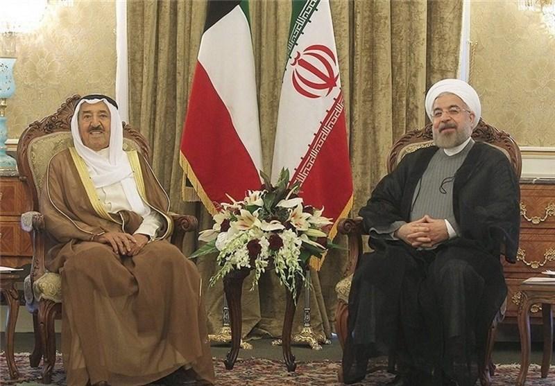 روحانی و امیر کویت