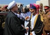 سلطان عمان یستقبل الرئیس روحانی فی مسقط