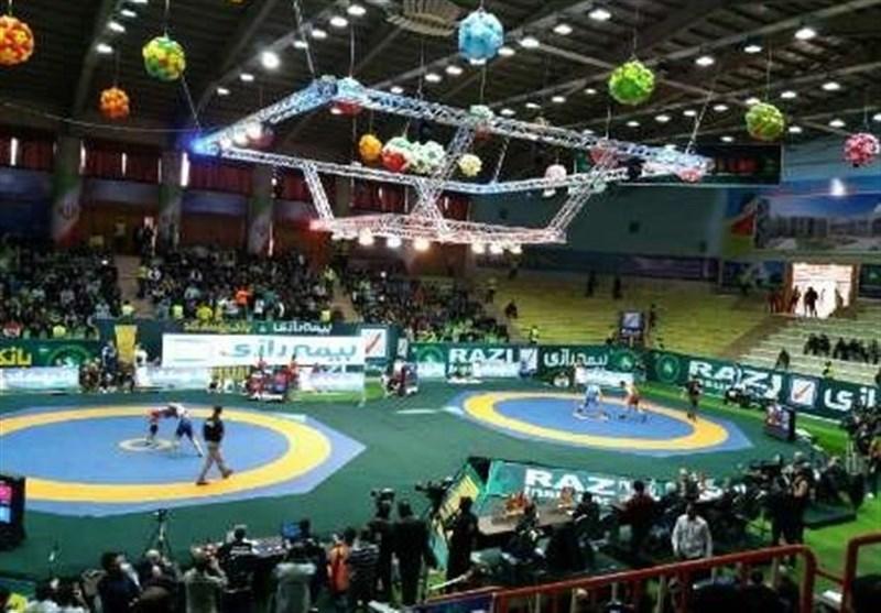 إنطلاق بطولة کأس العالم للمصارعة الحرة فی إیران