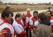 رئیس سازمان امداد و نجات از مناطق سیل زده فارس بازدید کرد