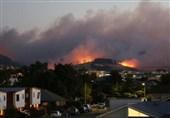 آتش دومین شهر بزرگ نیوزیلند را هم فرا گرفت+فیلم و عکس