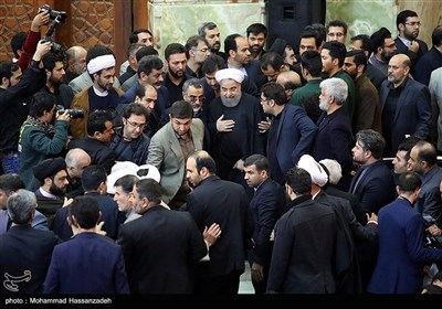 Iranians Mark 40th Day after Ex-President Rafsanjani's Demise
