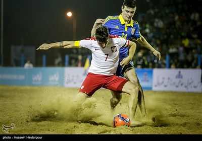 آخرین روز مسابقات بین المللی فوتبال ساحلی - بوشهر