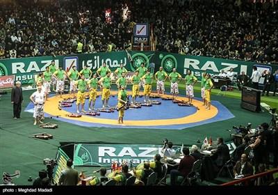 استمرار منافسات بطولة کأس العالم للمصارعة الحرة فی إیران