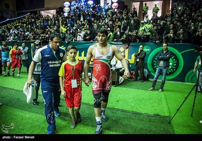 حواشی مسابقات جهانی کشتی آزاد در کرمانشاه